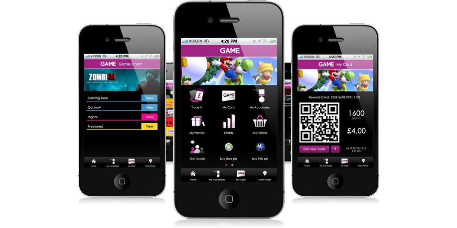 GAME Mobile App
