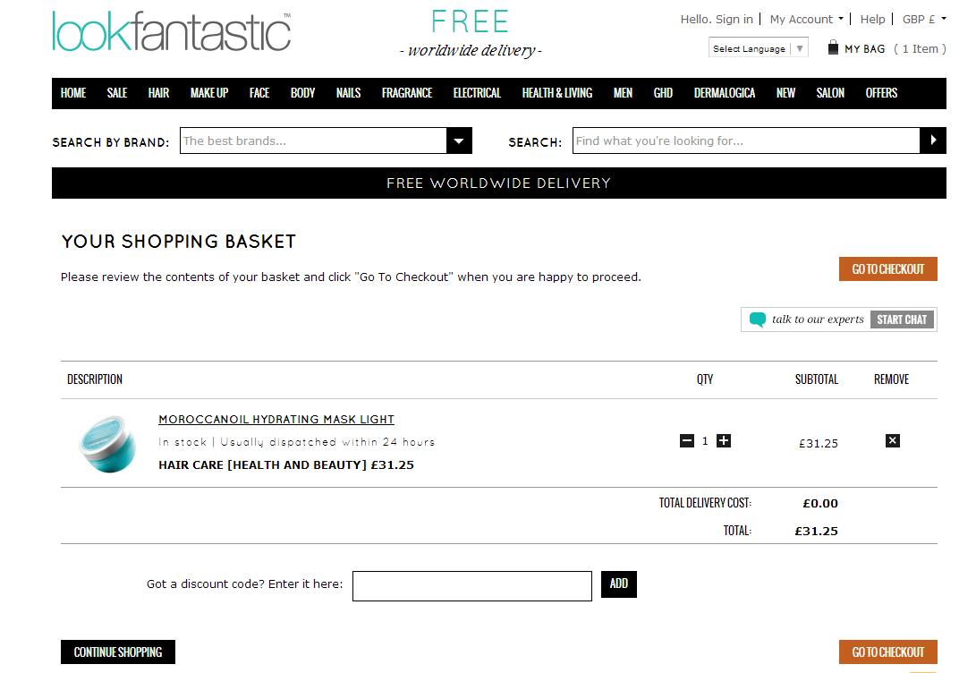Lookfantastic is a leading online British boutique, one of the first of its type and has been in operation since With over 14, products in categories such as make-up and skincare, Lookfantastic stocks some of the biggest brands on the planet, including Elizabeth Arden, Redken, GHD, Deborah Lippmann, Benefit, and OPI.