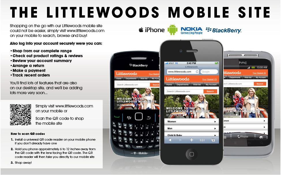Littlewoods Mobile App