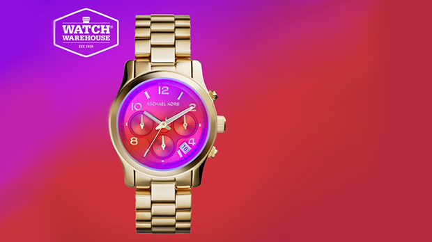 Win a Michael Kors watch worth £229 in conjunction with WatchWarehouse