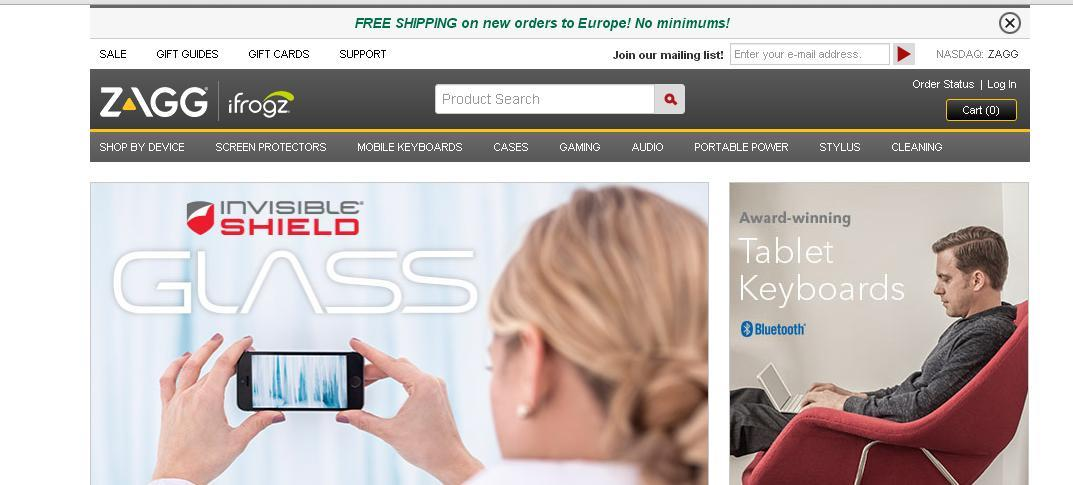 Free Shipping - ZAGG Voucher Codes and Discount Codes