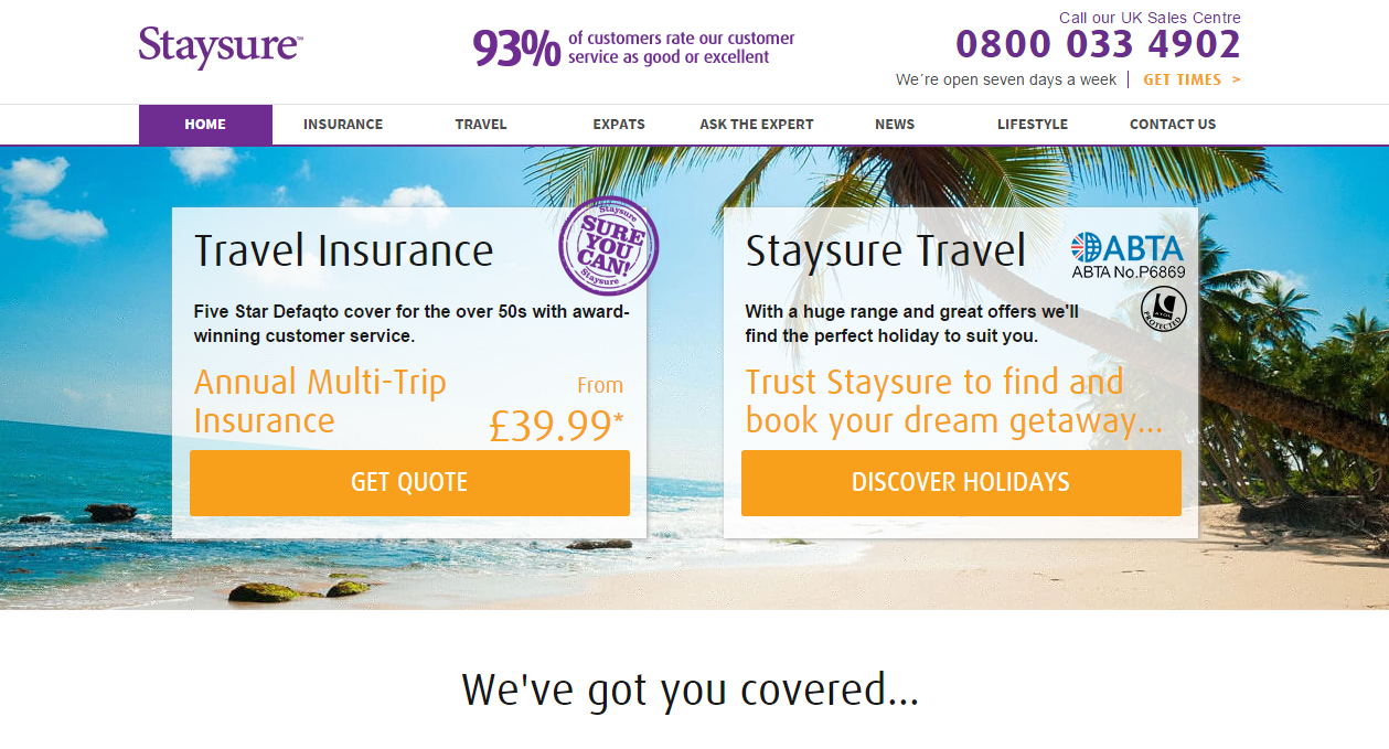 Staysure voucher codes discount codes 2018 my voucher for Motor age coupon code