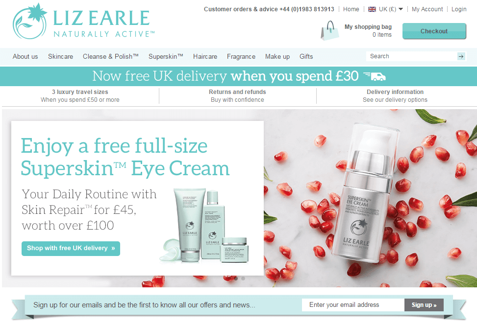 Remarkable Liz Earle Discount Codes  Voucher Codes  Free Delivery  My  With Fascinating Liz Earle Naturally Active Skincare With Attractive Small Garden Hooks Also Garden Lighting Effects In Addition Garden Utility Cart With Wheels And Eldon Garden Car Park As Well As Zen Garden Purpose Additionally The Desert Botanical Garden From Myvouchercodescouk With   Fascinating Liz Earle Discount Codes  Voucher Codes  Free Delivery  My  With Attractive Liz Earle Naturally Active Skincare And Remarkable Small Garden Hooks Also Garden Lighting Effects In Addition Garden Utility Cart With Wheels From Myvouchercodescouk