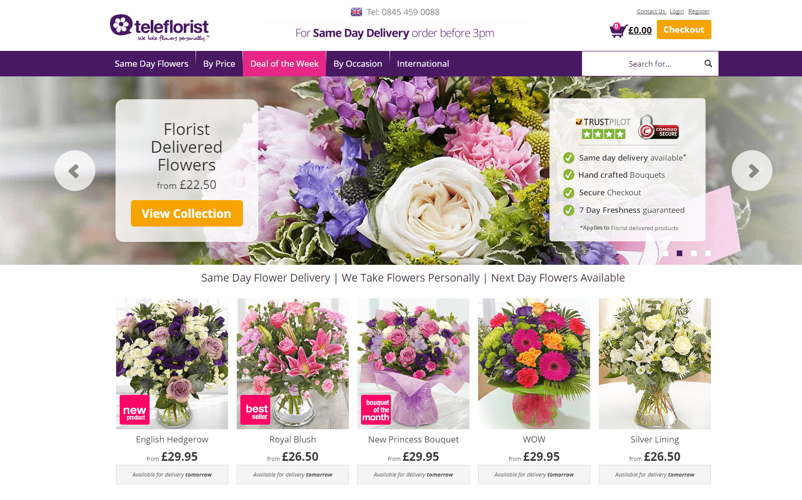 Say YES to the 55% off Coupon. Last chance to save on popular items. Get the best verified Teleflorist coupons. Cancellation or refund requests are subject to the refund policy Now, isn't that a great deal!