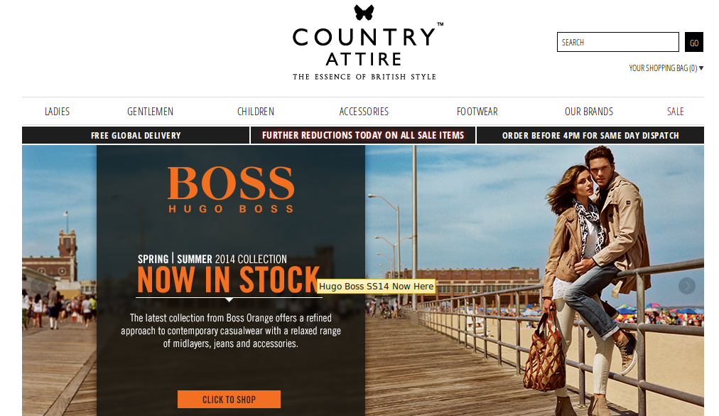 Country attire discount coupons