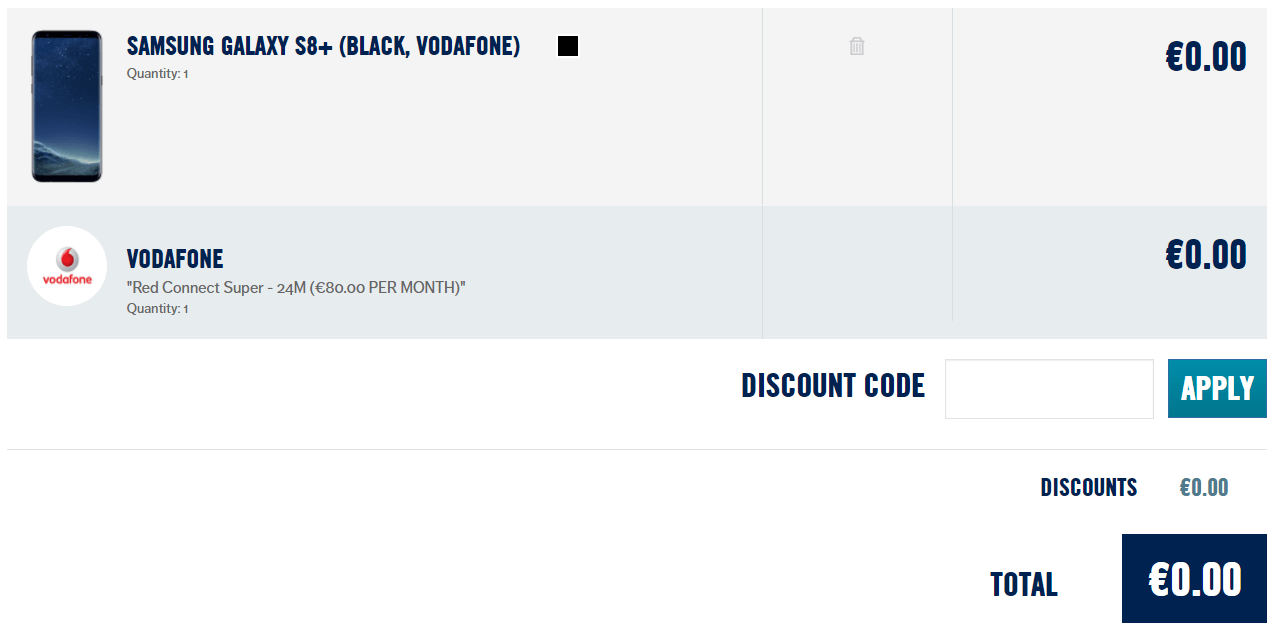 Carphone Warehouse Code Redemption