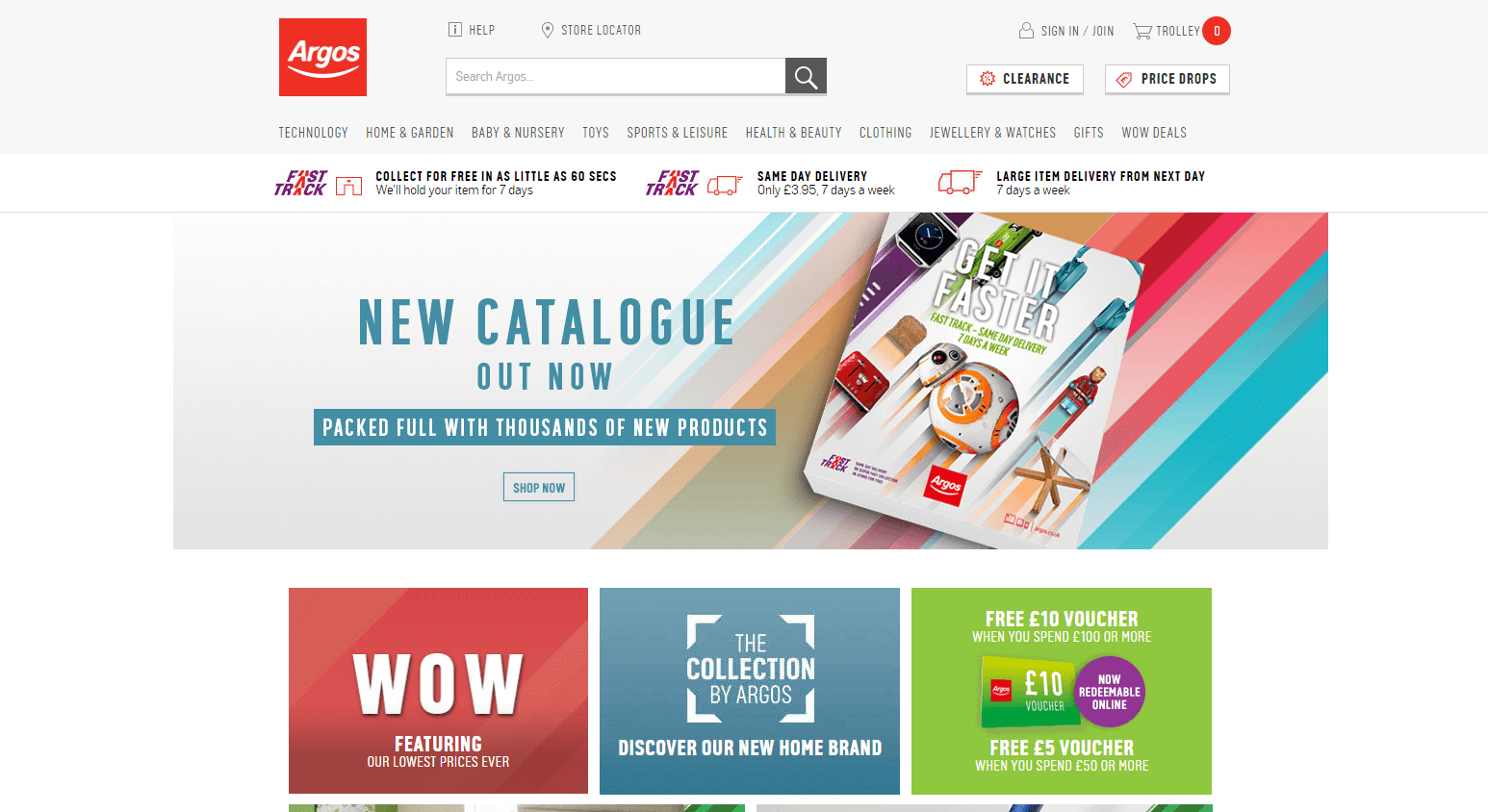 Receive the latest Argos online voucher codes to your inbox