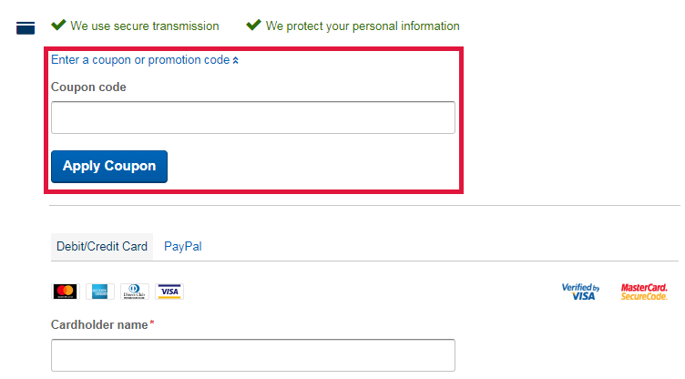 Expedia Coupon Code Redemption Image