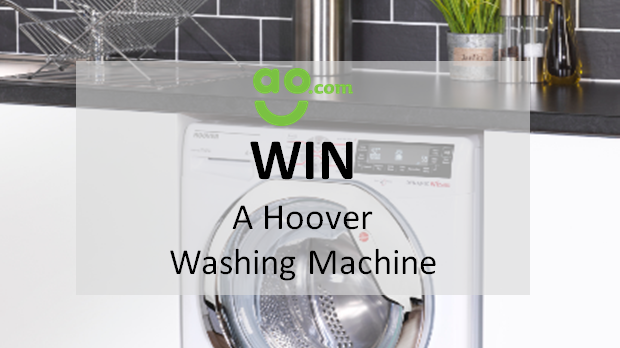 WIN A Hoover One Touch Washing Machine