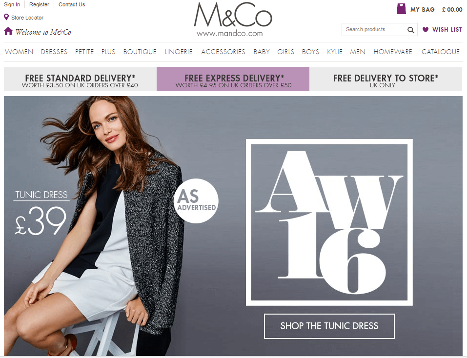 M&Co. Promo Codes, Coupon Codes November Choose from a complete list of all M&Co. promotional codes and coupon codes in November A M&Co. promo code or coupon code will help you save money when order online at M&Co.