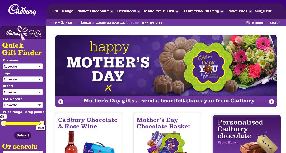 Cadbury gifts direct voucher codes discount codes myvouchercodes more information about cadbury gifts direct negle Image collections