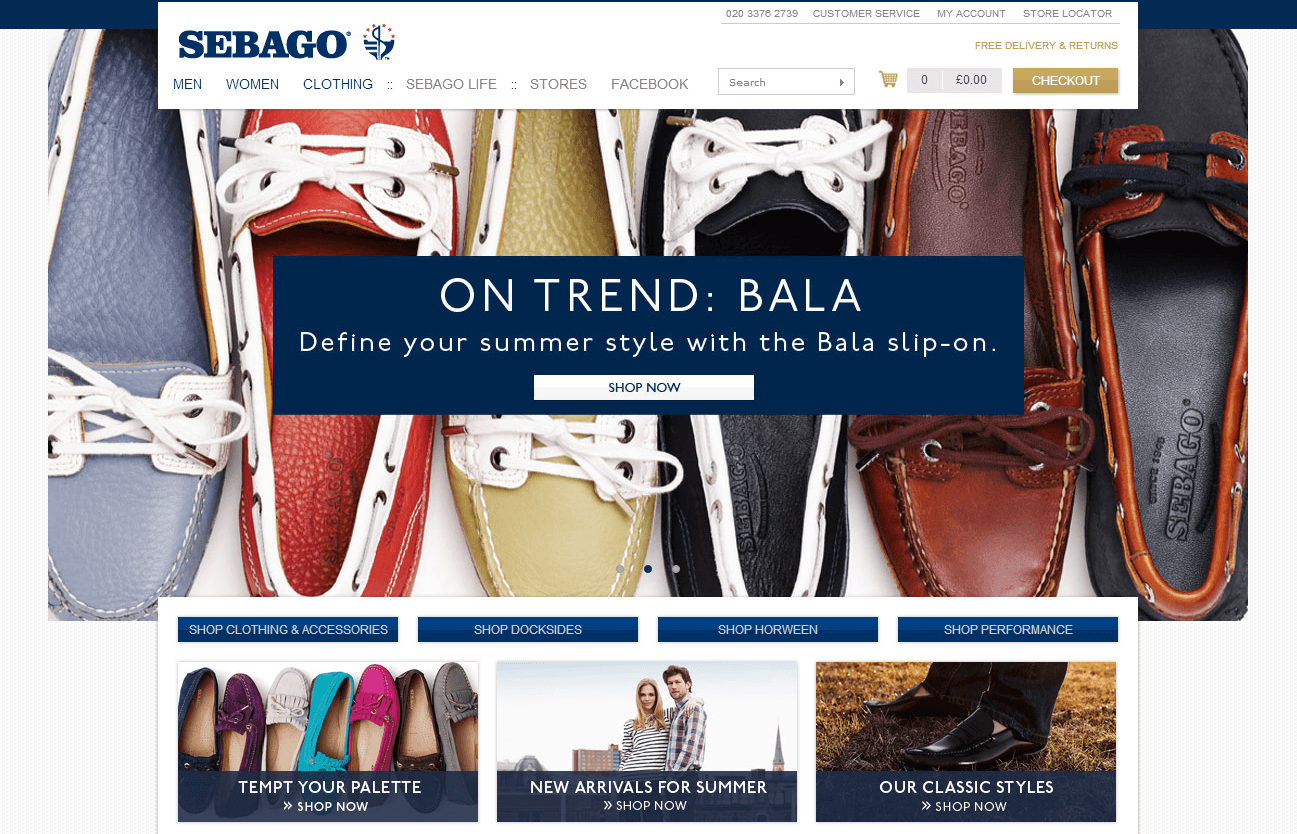 Save 20% at Sebago with coupon code SAV (click to reveal full code). 6 other Sebago coupons and deals also available for November