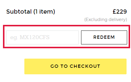 Made.com Voucher Codes Redemption Image