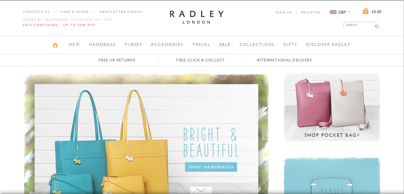 Radley is a British style icon, a brand that is focused on making bags that women can fall in love with, bags that can complete any outfit. The Radley brand has been an integral part of the British fashion scene since , and they have stores across the United Kingdom, from London to Newcastle.
