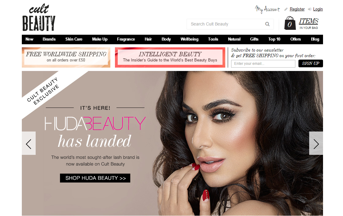 Huda beauty coupon code
