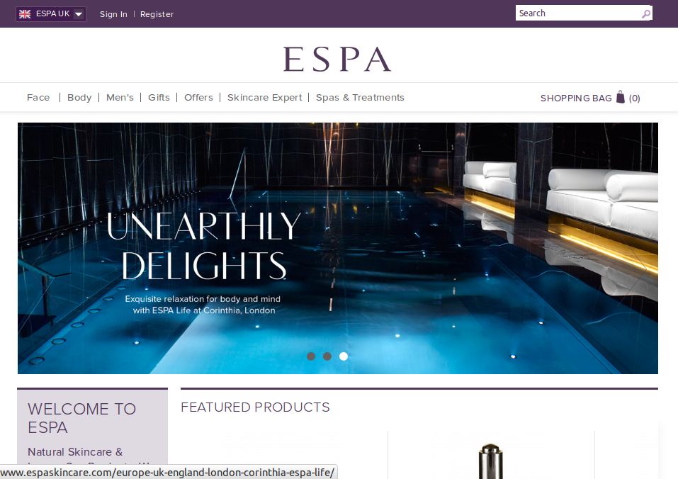ESPA discount and promo codes November ESPA Skincare. Extra $10 off the Beauty Explorer collection. T&Cs apply. Last verified 22 Nov Get deal. Deal ends 29 Nov ESPA Skincare. 5 free samples with $75 or more order. Exclusions may apply. Choose samples at checkout.