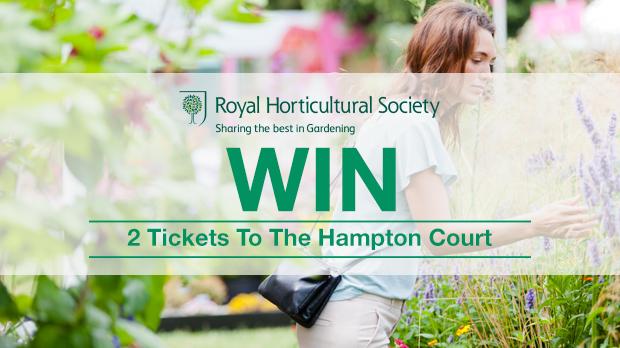 WIN 2 Tickets to The Hampton Court With The Royal Horticultural Society