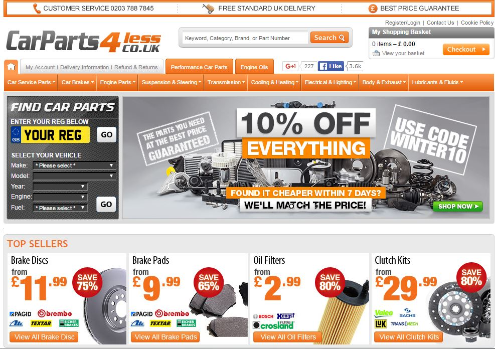 Affordable Car Parts Online