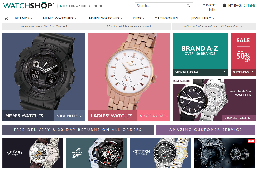 The best Watch Shop voucher Watch Shop allow you to save money while buying luxury watches. We feature the best Watch Shop deals on this site, and so far this 6% voucher has proven to be popular among our savvy shoppers. Make sure to check this page regularly to see when this voucher .