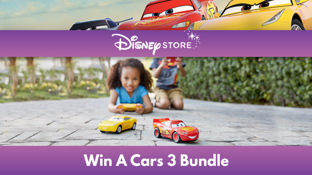 Win a Cars 3 Bundle with Disney Store