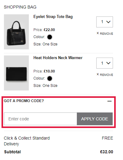 How to redeem a Matalan discount code. Whatever your purchases may be, there is no hassle when checking out with Matalan. If you are shopping clothing items or houseware the appearance of your checkout will be different than the appearance were you to shop furniture -- this is because when shopping furniture you will be redirected to the Matalan Direct shop.
