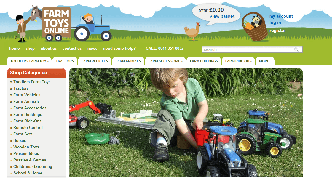 The latest Discount Codes and Promo codes of Farm Toys Online can be found here: Up to 13% Off Selected Soft Toys. Receive 10% off% off when you shop at Farm Toys Online .