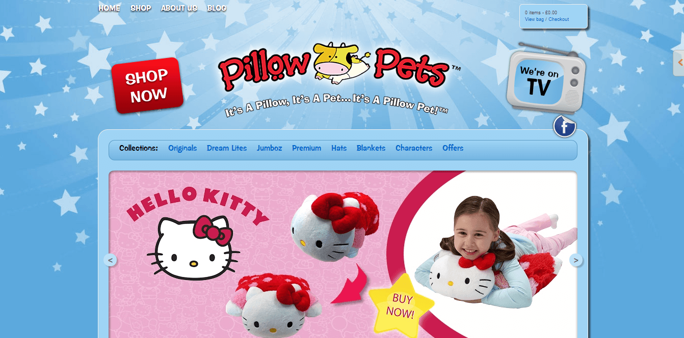 Pillow Pets Promo Codes for November, Save with 15 active Pillow Pets promo codes, coupons, and free shipping deals. 🔥 Today's Top Deal: Enjoy 25% Off Site Wide. On average, shoppers save $41 using Pillow Pets coupons from tikepare.gq
