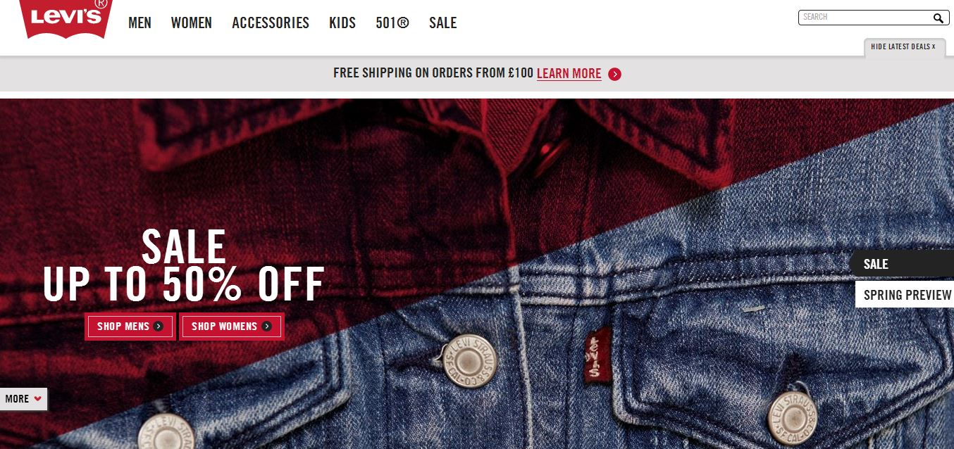 Dive into our huge range of jeans and other clothing from top brands and designers, including Levi's, Diesel, Wrangler, Superdry, 11 Degrees, Hype and Dickies. With free next day delivery to UK addresses, you'll be wearing your new jeans in no time.