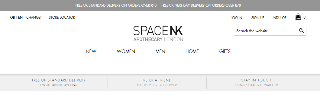 As of today, we have 1 active Space NK promo code and 3 sales. The Dealspotr community last updated this page on November 6, On average, we launch 2 new Space NK promo codes or coupons each month, with an average discount of 40% off and an average time to expiration of 30 days.