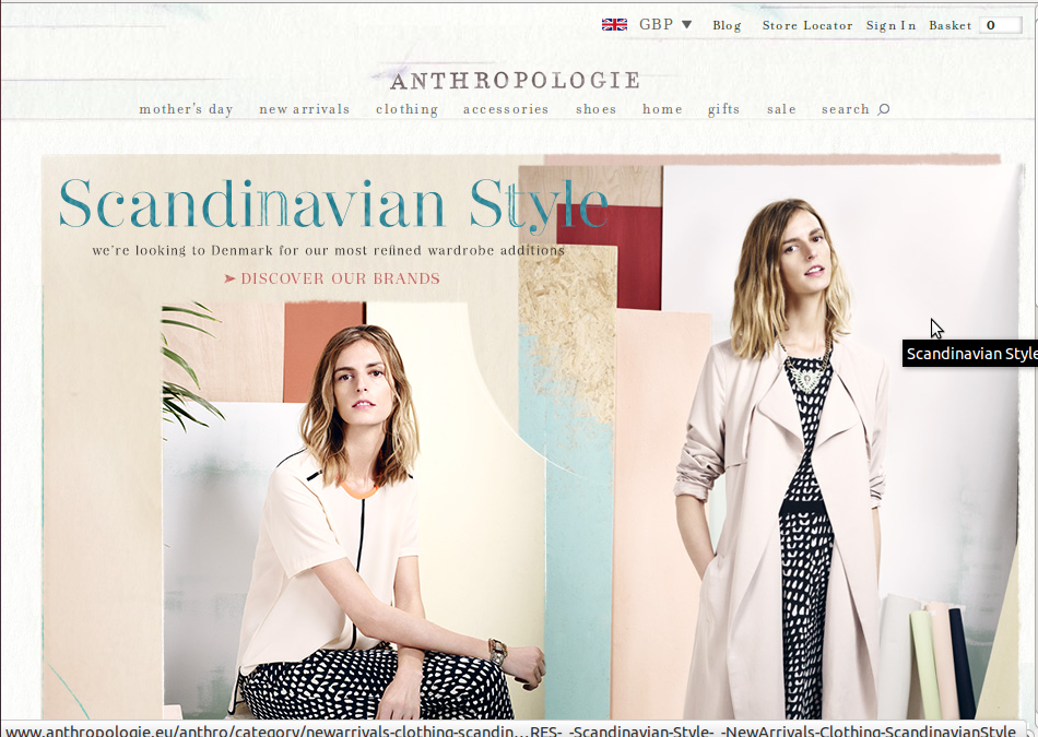 You will then be directed to the Anthropologie website, and a new window will open displaying the voucher code. To see the code, simply view the new window. Here you will be able to copy the code so that you can return to the original window with the Anthropologie site and paste the code into the relevant box during the checkout process.
