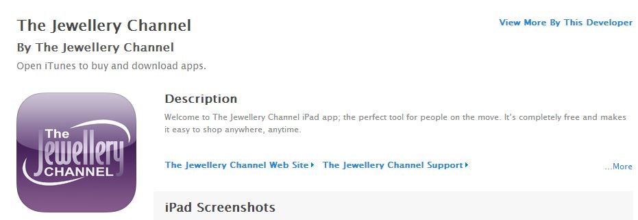 The Jewellery Channel Mobile App