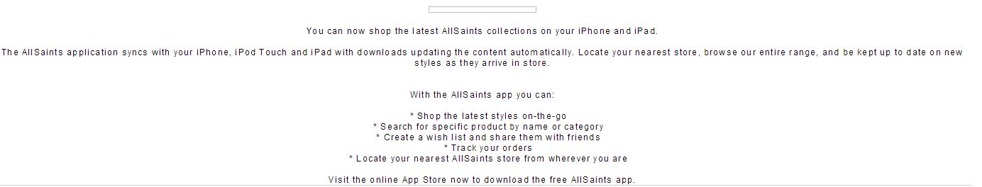 All Saints Mobile App