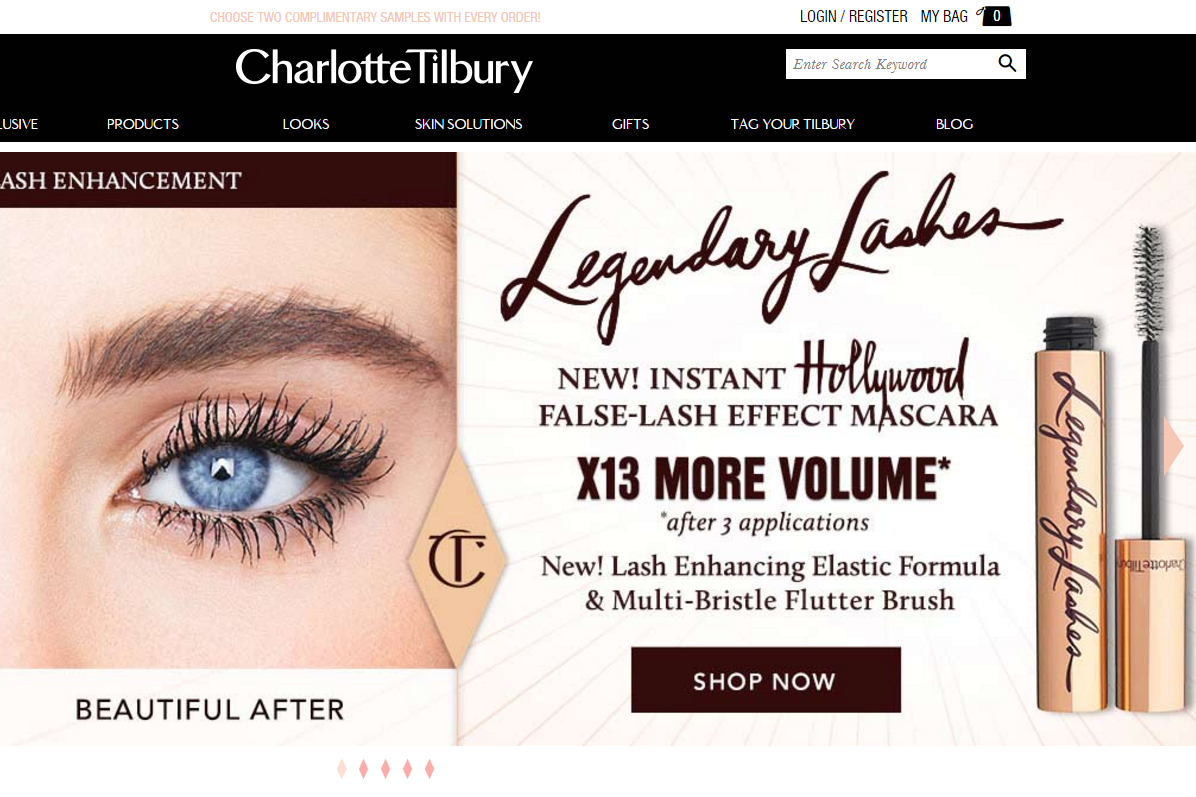 Charlotte Tilbury Discount Code website view Totally Charlotte Tilbury Discount Code are collected and the latest one is updated on 28th,Nov Subscribe to our newsletter if no promotions satisty you at the moment.