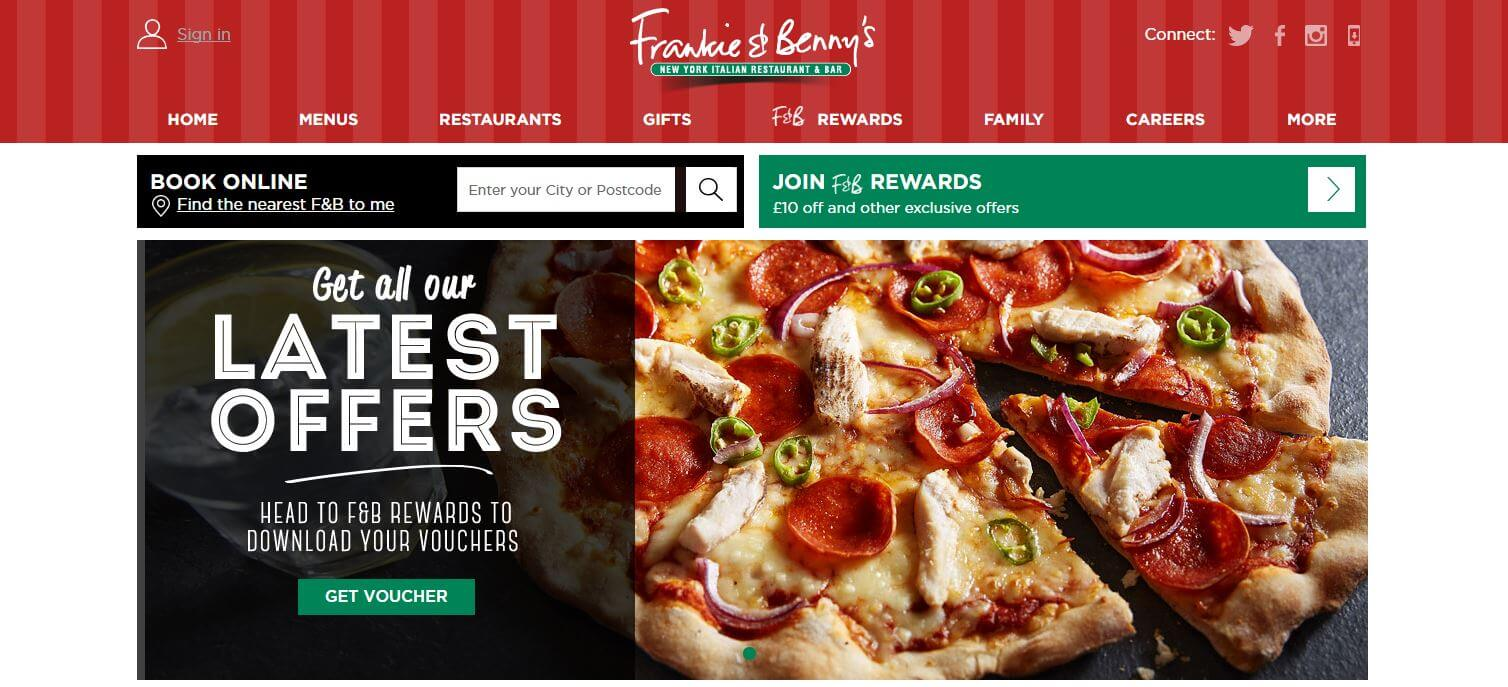 Money off coupons frankie and bennys
