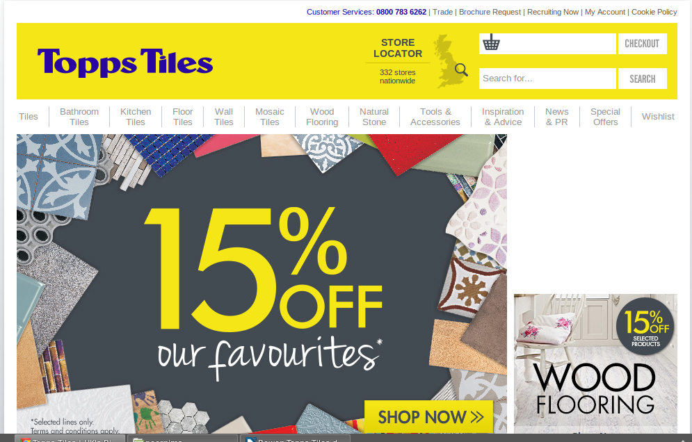 Tile Discount Code >> Topps Tiles Voucher Codes & Discounts - Free Delivery | My