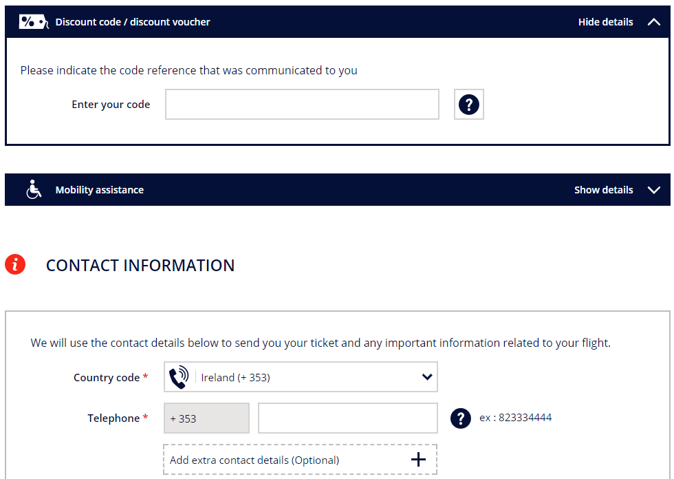 Air France code redemption