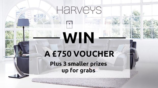 WIN A £750 Voucher Plus More With Harveys