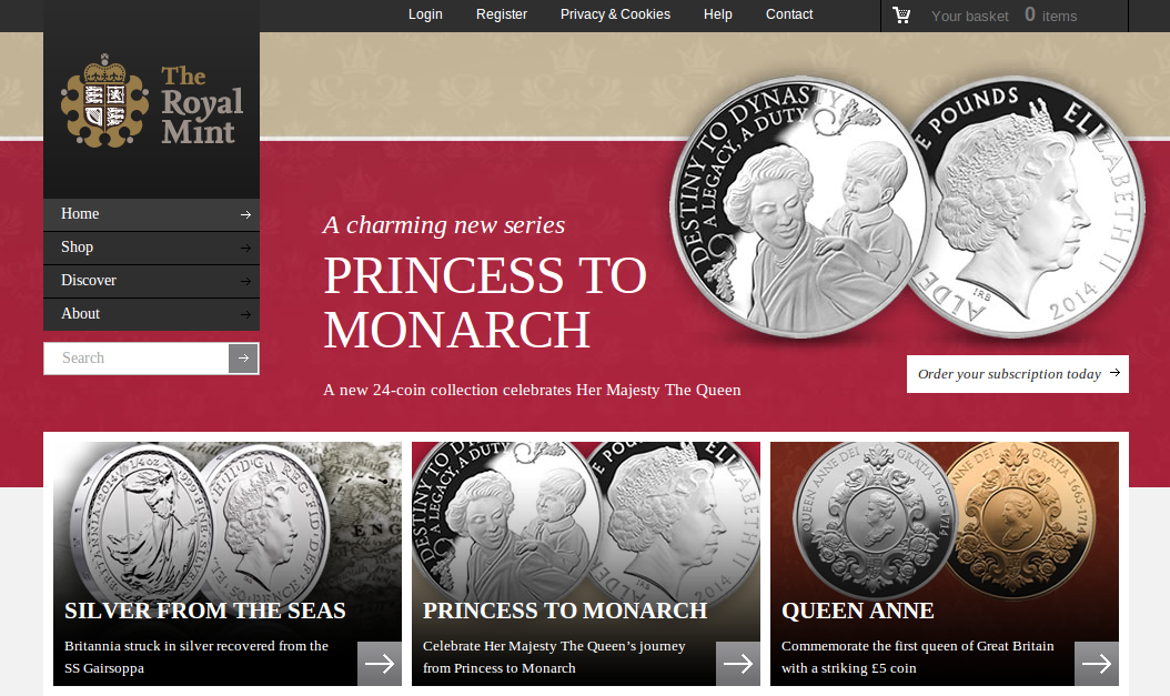 Royal Mint Voucher Codes. Get an attractive discount on The Royal Mint's assortment of commemorative coins and medals with a Royal Mint discount code from The Independent.
