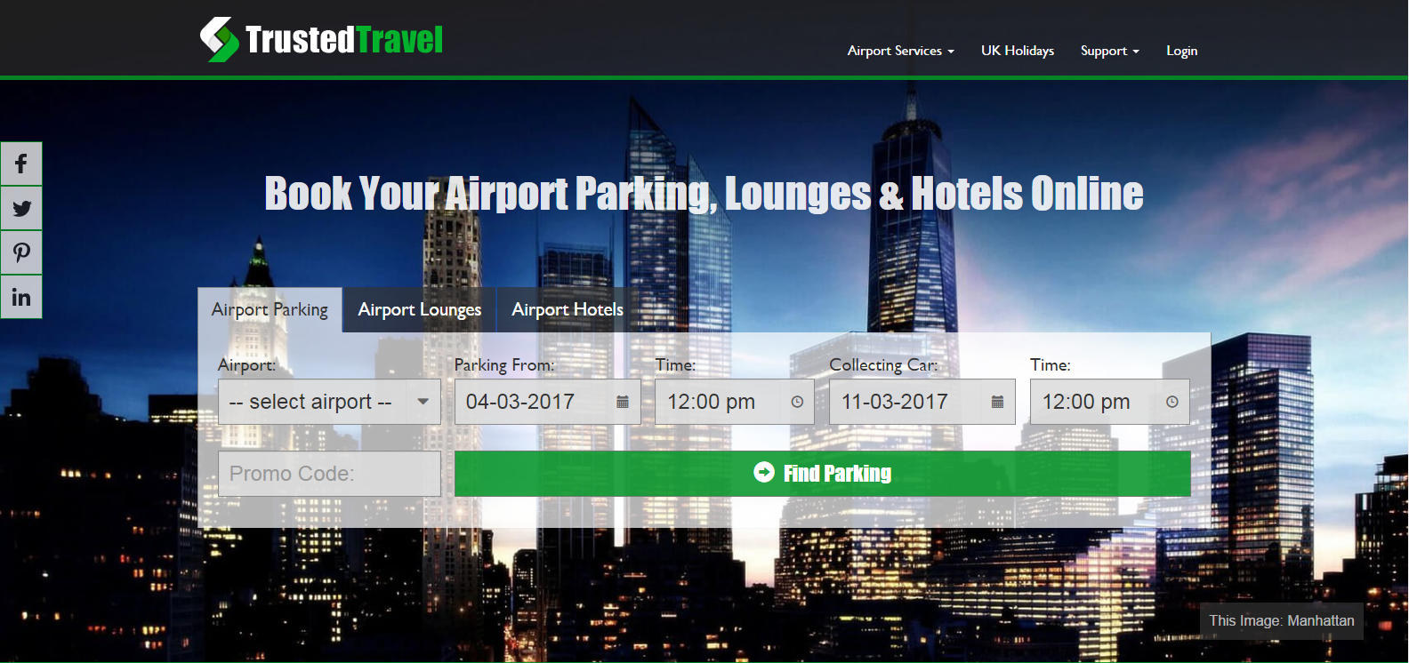 Manchester Airport Hotels With Parking Deals