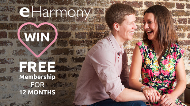WIN A Free Membership For 12 Months With eHarmony