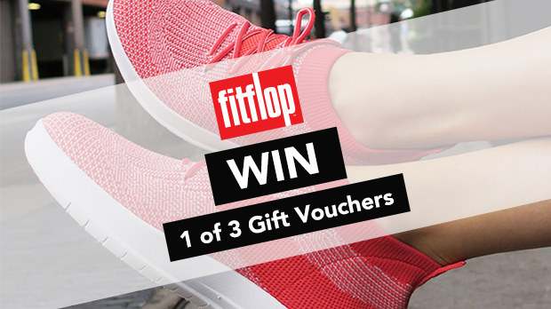 WIN 1 of 3 Gift Vouchers With Fit Flop