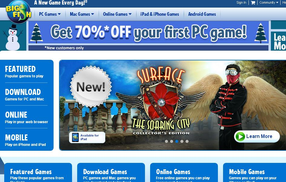 Big fish games voucher codes discount codes 2018 for Big fish games coupon