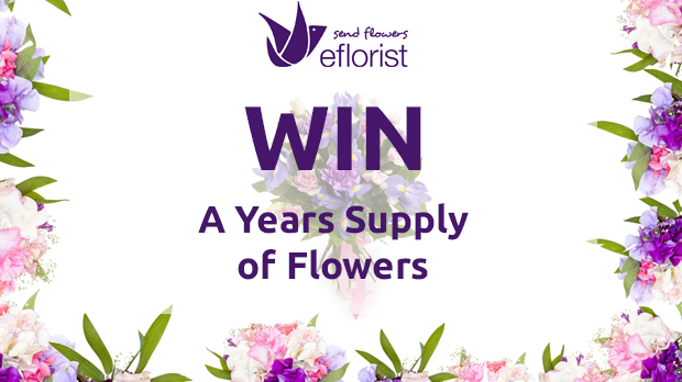 WIN A Years Supply Of Flowers With eFlorist