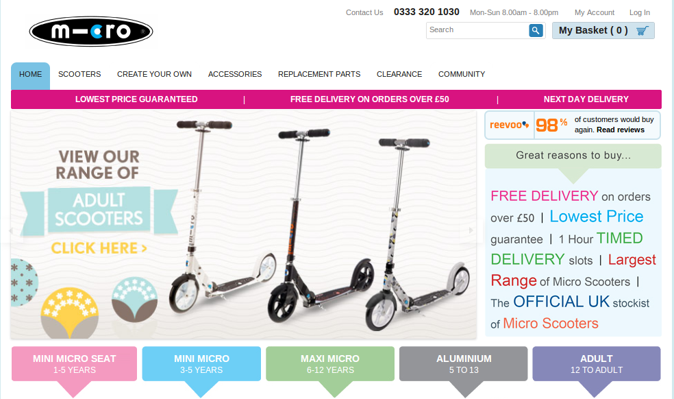 With Micro Scooter Hot Promo Codes, Enjoy Great Savings. The Micro Scooter hot promo codes we present here can be applied to both online and in-store shopping. At DailySelect, we offer various discount information including online coupons, promo codes and many special in-store offers.