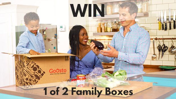 WIN 1 of 2 Family Boxes with Gousto