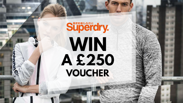 WIN A £250 Voucher With Superdry