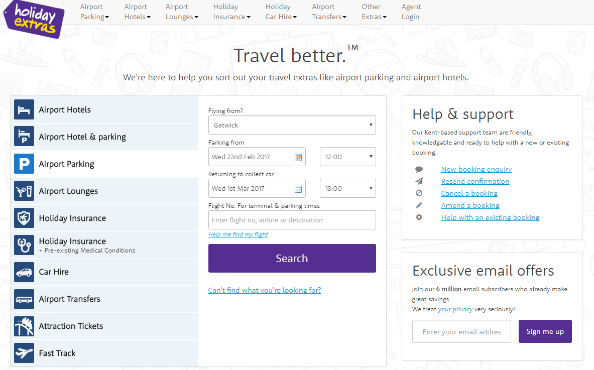 Live holiday extras discount codes vouchers 2018 get 22 off holiday extras airport parking discount codes homepage kristyandbryce Choice Image