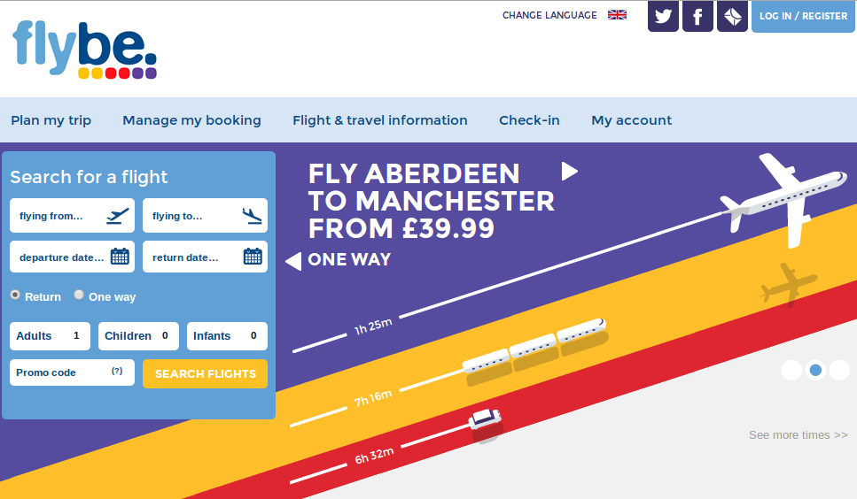 Fly And Save With Flybe