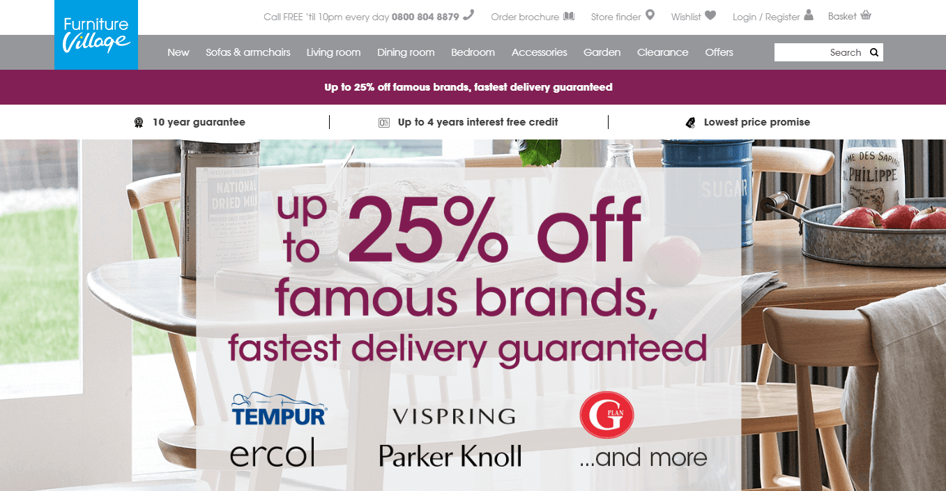 Furniture Village Discount Code furniture village discount codes & voucher codes - get 50% off
