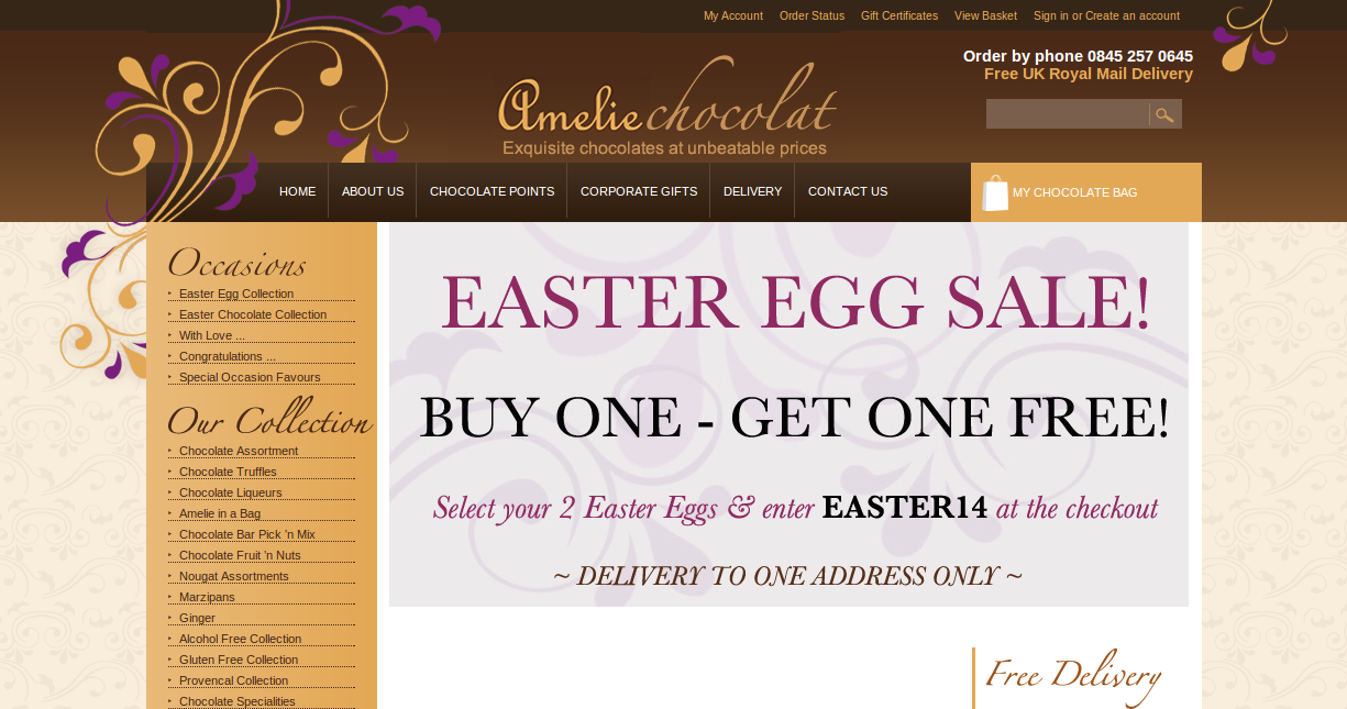 Discount online coupons toothsome chocolate emporium prices